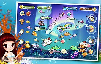 Happy fish dream aquarium