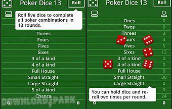 Poker dice free