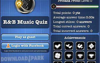 Rnb music quiz free