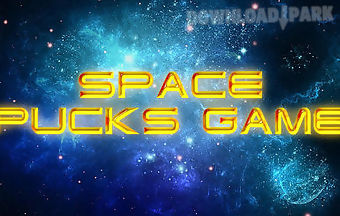 Space pucks game