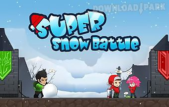 The frozen: super snow battle