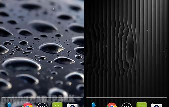 Black water live wallpaper