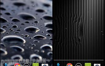 Black water live wallpaper