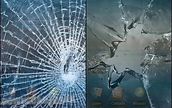 Broken screen: crack screen