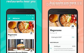 Deliveroo: restaurant delivery