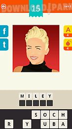 guess the celebrity! logo quiz
