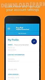Paypal prepaid Android Anwendung Kostenlose Herunterladen in Apk