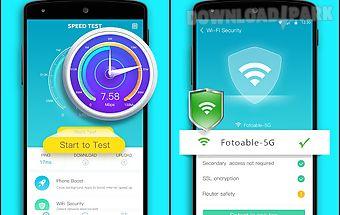 Speed test . wifi