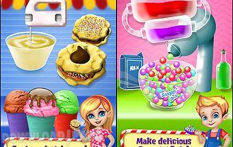 Sweet land - yummy food fair