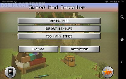 swords mod for minecraft pe