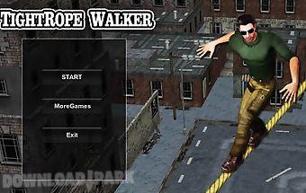 Tightrope walker 3d hd