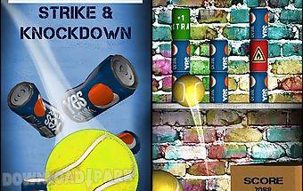 Can toss. strike, knockdown