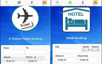 Easy hotels and flights booking