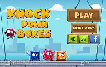Knock down boxes
