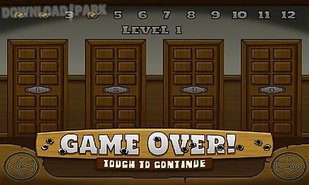Old west bank shoot'em up Android Game free download in Apk