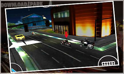 police bike prisoner chase sim