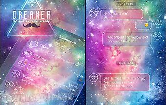 (free)go sms pro dreamer theme