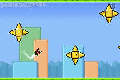geometric pixel dash