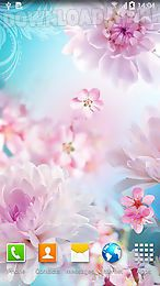 flowers by live wallpapers 3d
