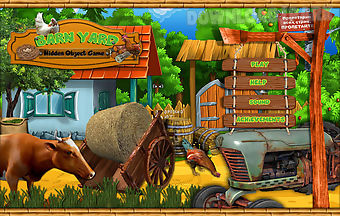 Free hidden object games - barn ..