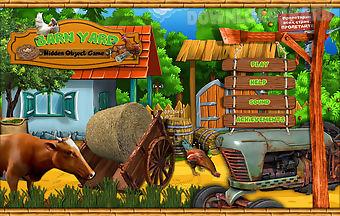 Free hidden object games - barn ..