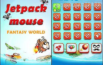 Jetpack mouse: fantasy world