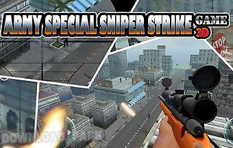 Army special sniper strike game ..