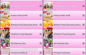 Best princess party ideas