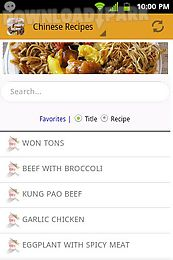 Chinese food recipes free android app free download in apk chinese food recipes free chinese food recipes free forumfinder Image collections
