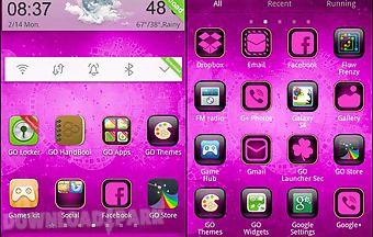 Cyanogen pink theme