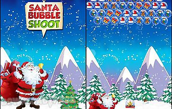 Santa bubble shoot