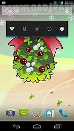 under mistletoe live wallpaper free