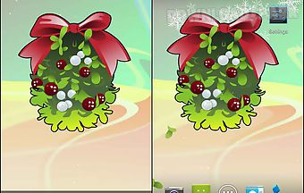 Under mistletoe live wallpaper f..
