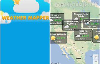 Weather mapper