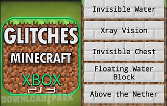 Glitches - minecraft xbox/ps3
