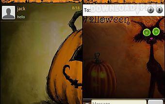 Handcent halloween 2012 skin