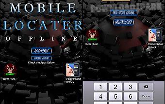 Mobile locator offline