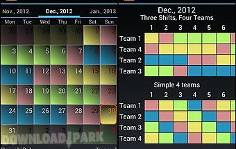 shift worker schedule app