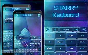 Starry go keyboard theme
