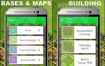 War maps for clash of clans