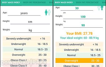 Bmi calculator - weight loss
