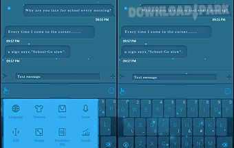 Touchpal science light theme