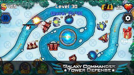 galaxy commander: tower defense