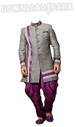 man wedding photo suit