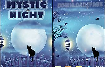 Mystic night live wallpaper