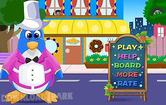 Penguin restaurant games