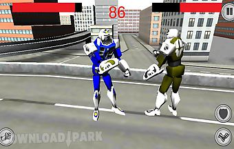 Robot super fight 3d