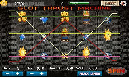 slot thrust machine