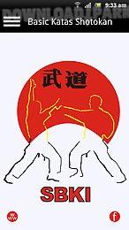 basic katas shotokan free
