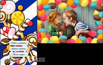 Candy photo frames